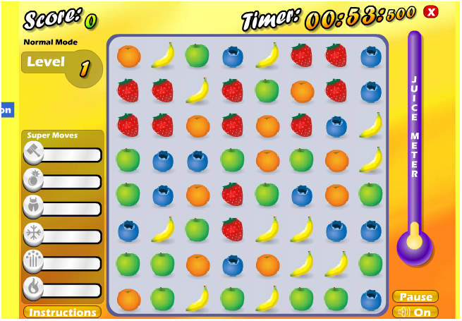 Coole Spiele Fruit Smash