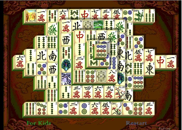 Mahjong Shanghai kostenlos spielen | Coolespiele.com